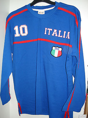 Trikot Italien Nr.10 Kinder Fussball Fanartikel Gr. 128 - 164 EM 2016