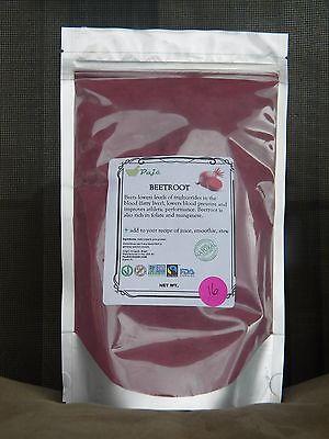 Beet Powder 16Oz   1Lb  Energy  Gluten Free  Non Gmo Paje  Vitc  Fiber  Minerals