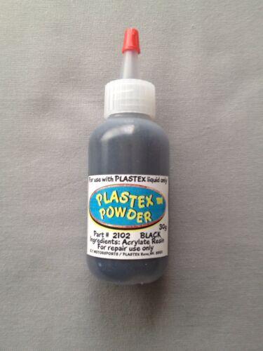 Plastex Plastic Repair Kits Refill Powder (Black) 30g.