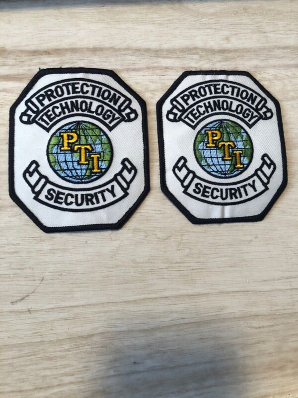 2 Protection Technology Security Shoulder Patches