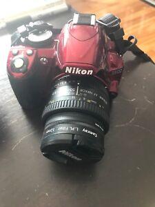 Nikon D3100 DSLR camera w/50mm lens