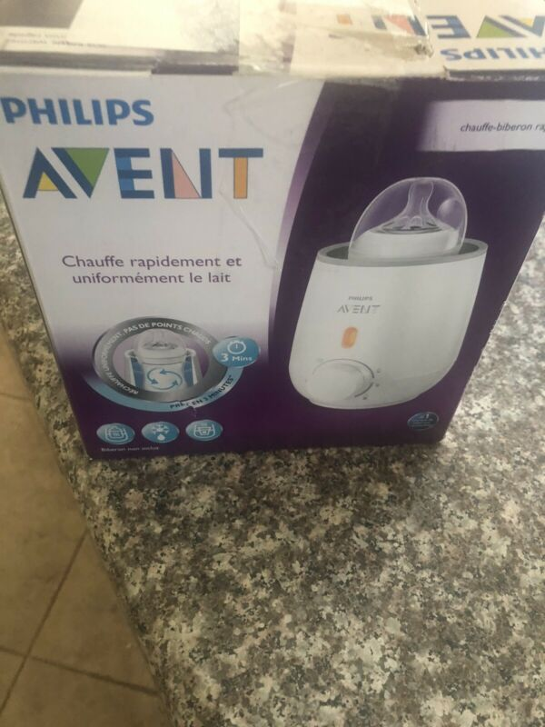 Philips AVENT Fast Bottle Warmer (Box Opened/Damaged box)