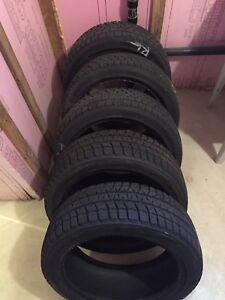 5 Winter Tires Bridgestone Blizzak 215/45/17