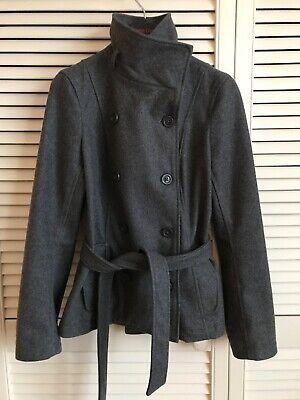 Gap coat. Grey funnel neck. size S