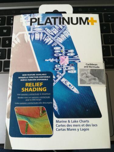 Navionics Platinum SD Caribbean Bermuda Nautical Chart Micro SD Card MSD 908P2