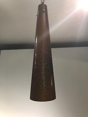 Tech lighting pendantebay 1 lbl lighting pavia 1 fusion jack pendant amber glass used high tech mozeypictures Choice Image