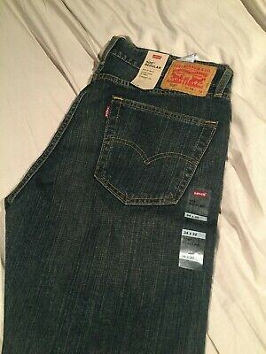 Brand New Men's Levis 505 Regular jeans #005052765 (Many Sizes Available)