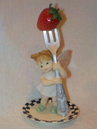 "My Little Kitchen Fairies Figurines 2001 ""Dinner Fairie"""