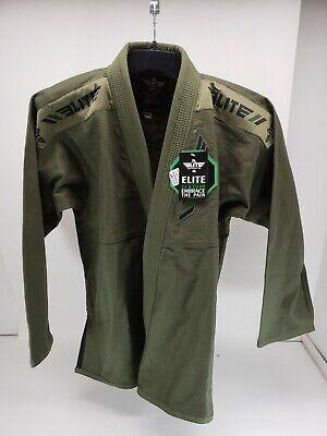 Elite Sports BJJ GI for Men IBJJF Kimono BJJ Jiujitsu GIS W/Preshrunk Fabric