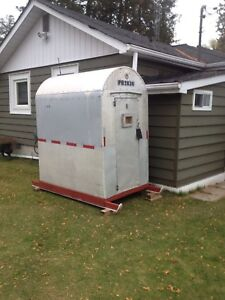 Stationary/Portable Fishing Ice Hut! 4'x8' - 2 person, $625.