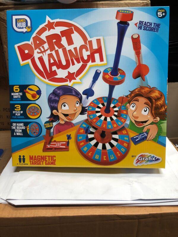Dart+launch+Game+%2C+Indoors+Outdoors+Magnetic+Target+Grafix