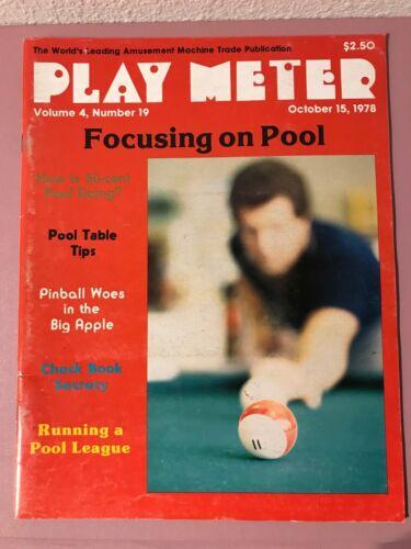Play Meter Magazine Oct 15th 1978