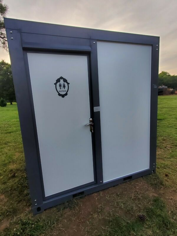 Portable Restroom With Shower