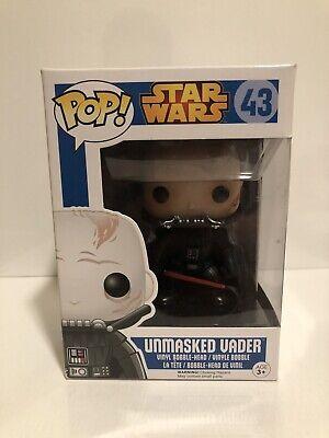 funko pop darth vader unmasked Star Wars New In Box