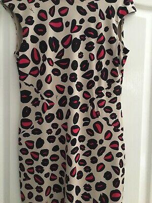 Issa. Back Detail Dress Size 14 NWOT