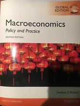 Macroeconomics: Policy and Practice - Global edition Duncraig Joondalup Area Preview
