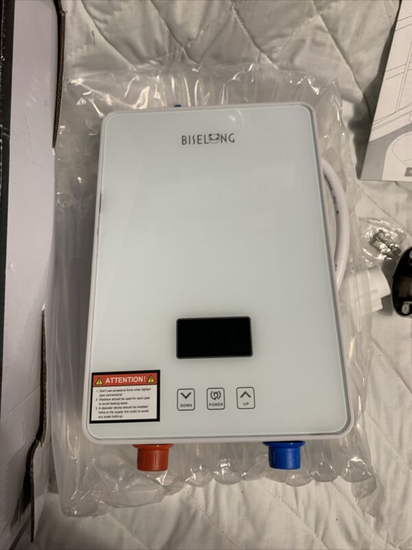 Biselong Instant Tankless Electric Water Heater ECO65 220/240V
