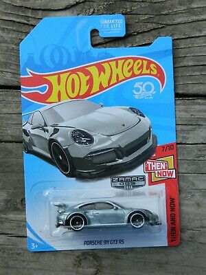 Hot Wheels Porsche 911 GT3 RS 7 / 10 Then And Now Zamac 2018 003