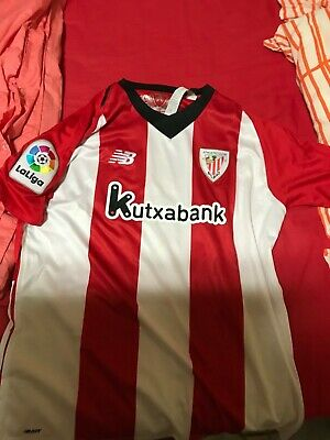 Brand New without  tags Athletic Bilbao 2018-19 new balance shirt size large image