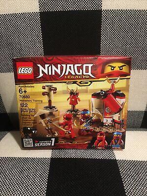 LEGO Ninjago Legacy Monastery Training 70680 Christmas Stocking Kai Nya Minifig