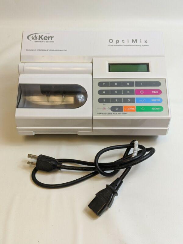 SDS Kerr OptiMix Model 100 Programmable Dental Mixing System