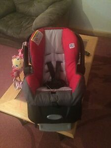 Stroller car seat and base