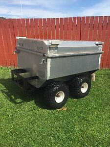 Custom Built ATV Tub Trailer