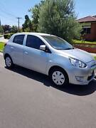 MITSUBISHI MIRAGE ES LA 2014 WITH REGISTRATION AND RWC.. Campbellfield Hume Area Preview