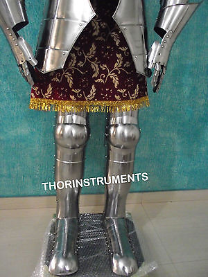 Armor Medieval Knight Wearable Full Suit Of Collectible Armor Costume