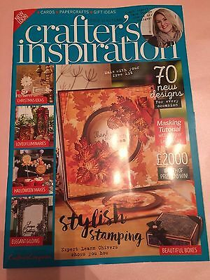 CRAFTERS INSPIRATION MAGAZINE ISSUE 11 FROM CRAFTERS COMPANION AND SARA DAVIES