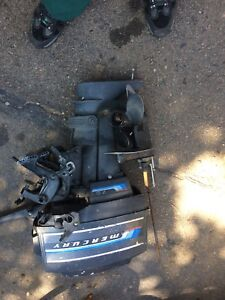 Boat motor for parts or repair