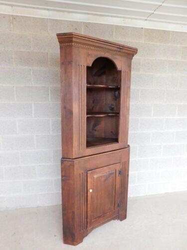 """Habersham Plantation Pine 2 Piece Corner Cabinet 78""""H x 36""""W"""