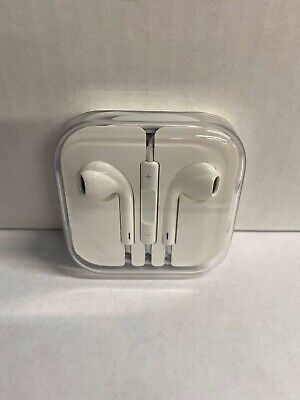 New Original Apple Authentic EarPods w/Mic & Remote 3.5mm Headphones