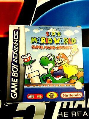 Super Mario World - Mario Advance 2 GBA
