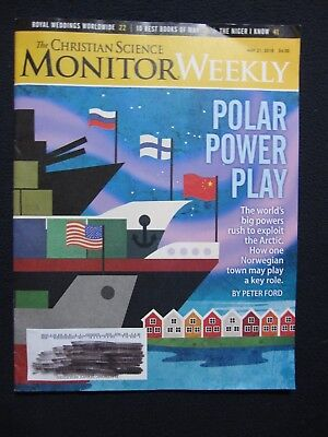 Christian Science Monitor May 21 2018 Polar Power Play Exploitation for sale  Shipping to India