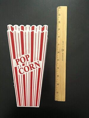 2 MINI PLASTIC POPCORN CONTAINERS BUCKETS 7 INCH - MOVIE NIGHT TUBS DISH SAFE](Plastic Popcorn Buckets)
