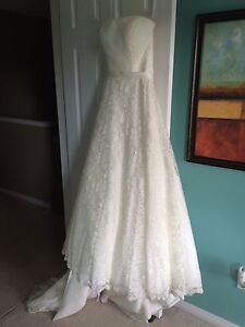 Wedding dress gown ivory lace