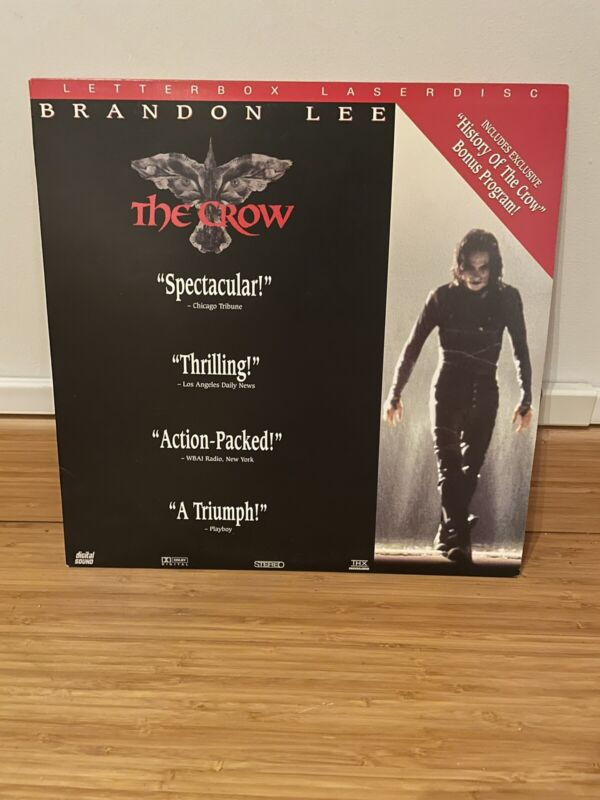 The Crow Letterbox Laserdisc Pre-Owned