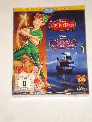 Peter Pan / Peter Pan 2 - Neue Abenteuer in Nimmerland NEU OVP Peter Pan 1 & 2 ()