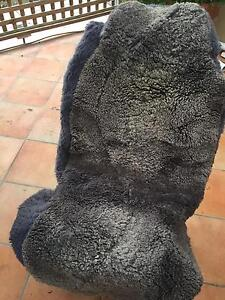 Car seat covers sheepskin grey Concord Canada Bay Area Preview