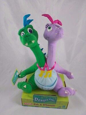 Playskool Dragon Tales Zak & Wheezie Plush
