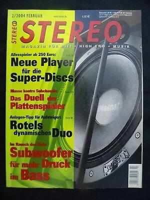 STEREO 2/04,QUAD ESL 57,HPG NIGHTINGALE ST,JBL TI K SUB,ELAC 211.2,B&W ASW 800 gebraucht kaufen  Kiel