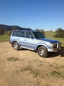 1996 Toyota LandCruiser Wagon Lambs Valley Glen Innes Area Preview