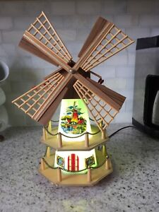 Musical Windmill Lamp