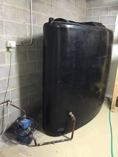Water Tank and pump Botany Botany Bay Area Preview