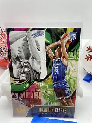 19-20 Panini Basketball Court Kings Brandon Clarke