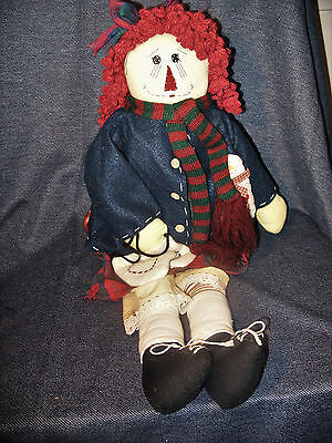 Unicorn Merchandise (Unicorn Merchandising Corp. Primitive Winter Look Raggedy Anne Doll 22