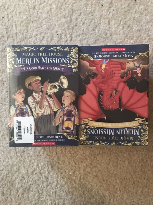 Magic Tree House MERLIN MISSIONS Series by Mary Pope Osborne Set of Books 1-27