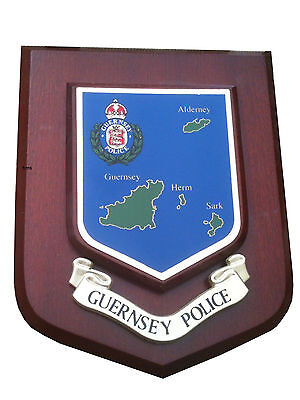 Guernsey Police Service Wall Plaque Shield