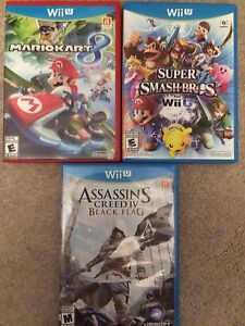 Nintendo Wii U games for sale brand new condition